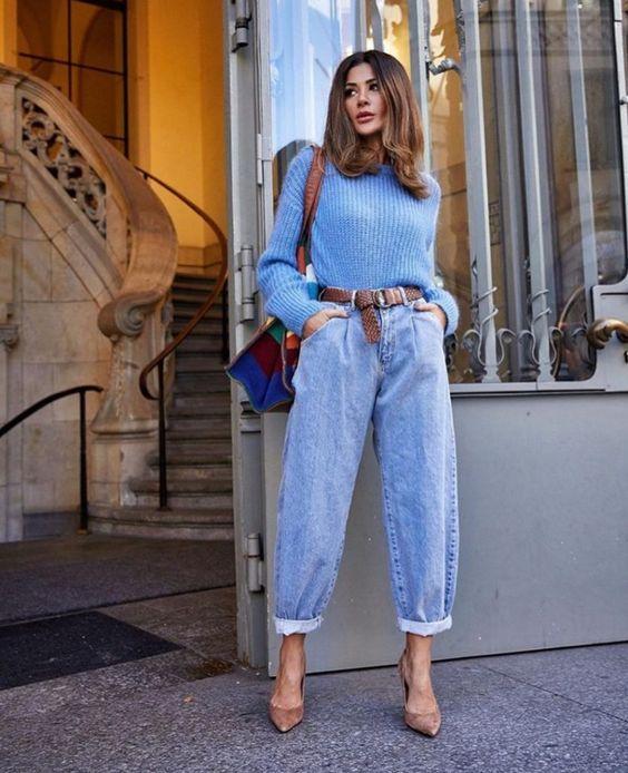 Como Combinar Slouchy Jeans Blog De Moda