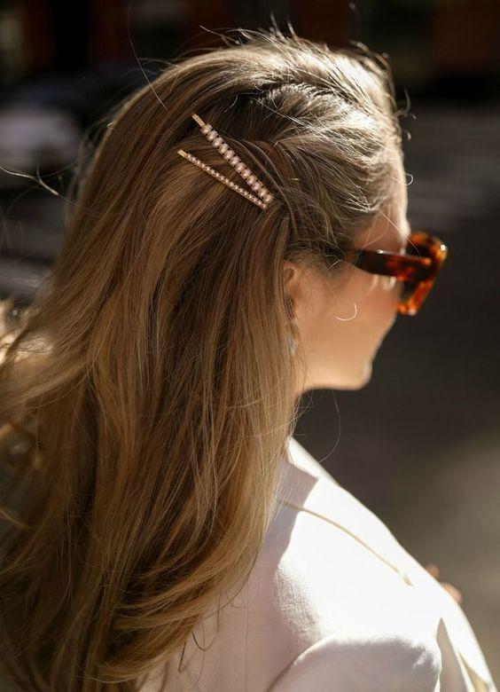Peinados con broches