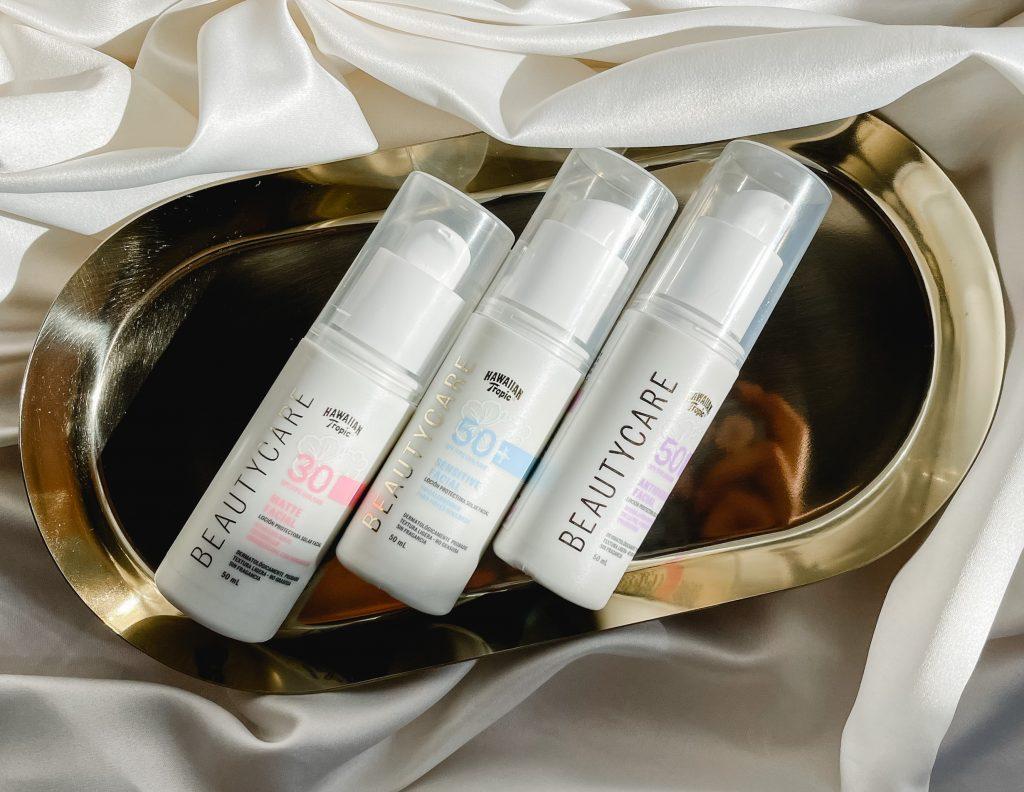 Protector Solar para cada tipo de piel. Beautycare by hawaiian tropic.